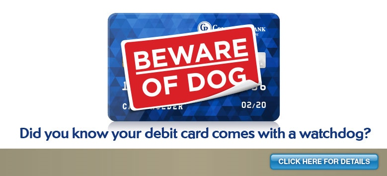 FraudWatch PLUS debit card protection